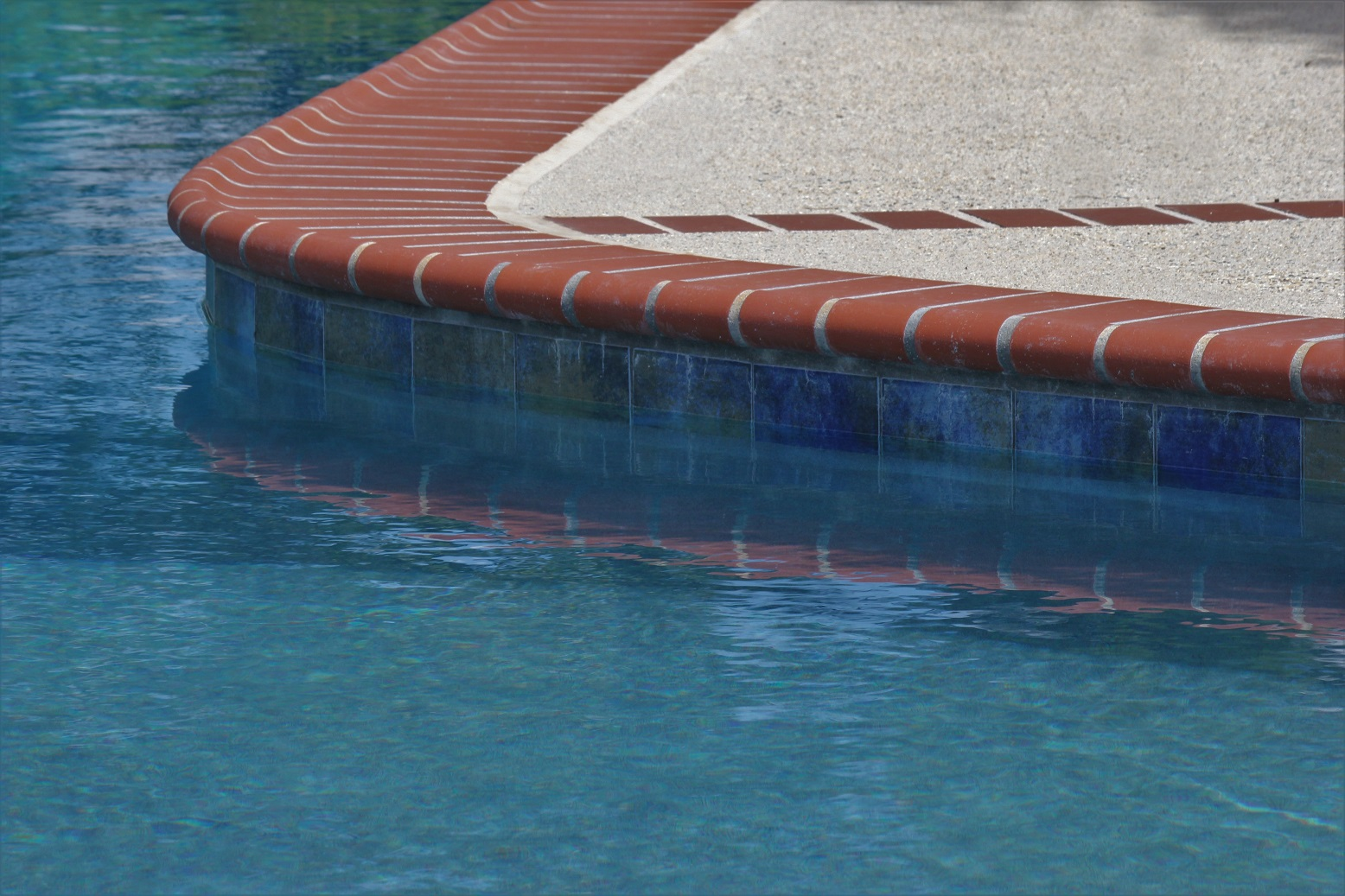 Pool Coping - 200 Plantation Red 2