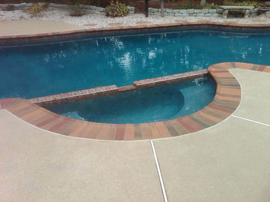 Pool Coping - 350 Autumn Leaves - Safety Grip
